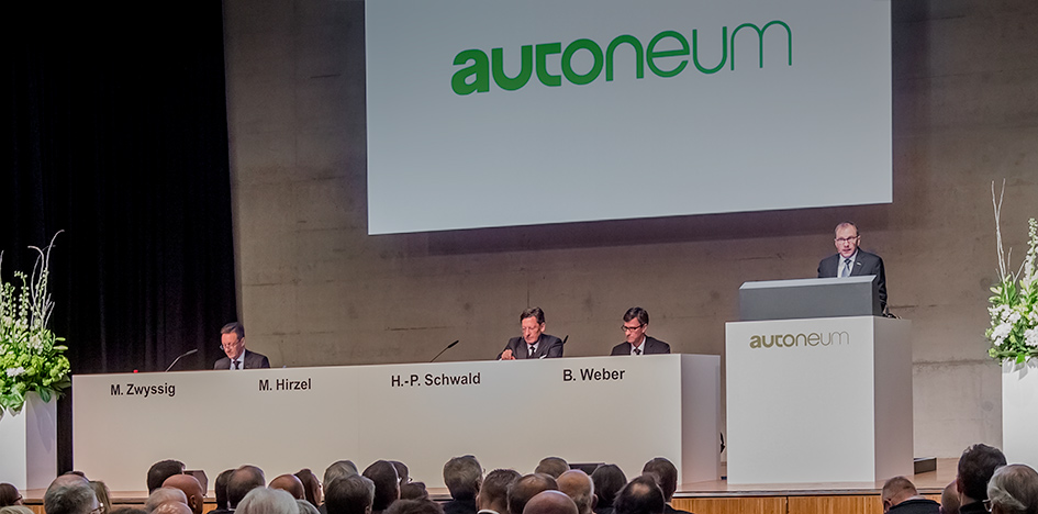 Annual General Meeting approves dividend of CHF 3.60