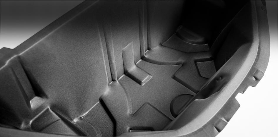 Vorderer Kofferraum aus Ultra-Silent: höhere Reichweite für Elektroautos